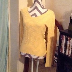 Gap cable knit sweater sz M